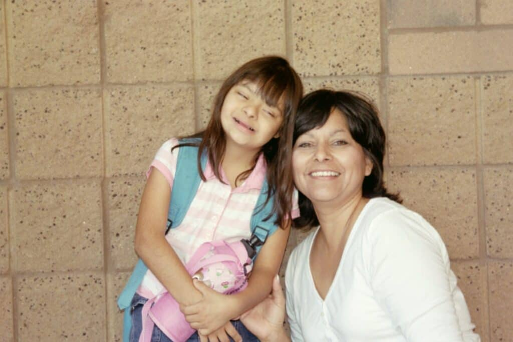 LETICIA & FOUNDER THERESA MOTHER & DAUGHTER THAT STARTED LETI FOUNDATION